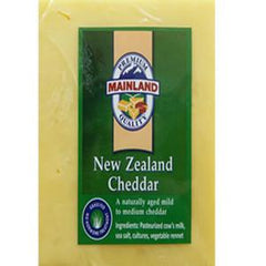 MAINLAND NEW ZEALAND EGMONT CHEDDAR CHEESE
