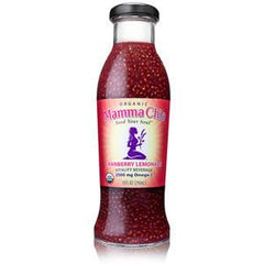 MAMMA CHIA ORGANIC CRANBERRY LEMONADE WITH OMEGA 3 KOMBUCHA