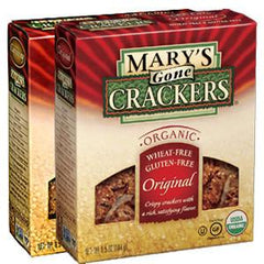 MARYS GONE     WHEAT FREE AND GLUTEN FREE ORIGINAL CRACKERS