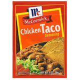 MCCORMICK CHICKEN TACO SEASONING