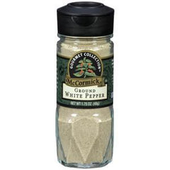 MCCORMICK GOURMET GROUND WHITE PEPPER