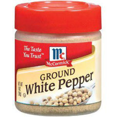 MCCORMICK GROUND WHITE PEPPER