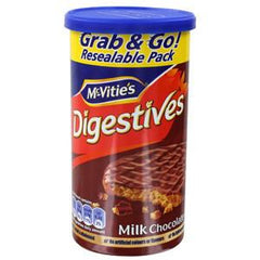 MCVITIE'S DIGESTIVE MILK CHOCOLATE WHEAT BISCUIT - GRAB & GRO
