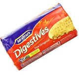 MCVITIE'S DIGESTIVE THE ORIGINAL BISCUIT