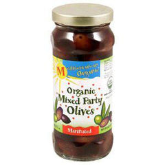 MEDITERRANEAN ORGANIC MIX PARTY OLIVES MARINATED