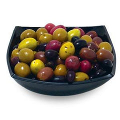 MEDITERRANEAN WHOLE OLIVES MIXED
