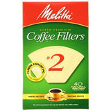 MELLITA COFFEE FILTERS # 2