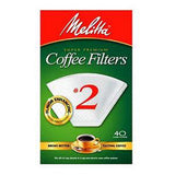 MELLITA SUPER PREMIUM COFFEE FILTERS # 2