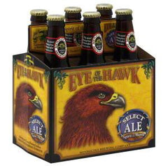 MENDOCINO BREWING COMPANY EYE OF THE HAWK BEER - 6 PACK - 12 FL OZ BOTTLE