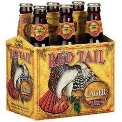 MENDOCINO BREWIND COMPANY RED TAIL ALE THE LEGEND BEER - 6 PACK - 12 FL OZ