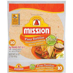 MISSION WHOLE WHEAT TORTILLAS 8 INCHES