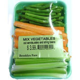 FRESH MIX VEGETABLES  CUT CARROTS, CELERY, STRING BEANS