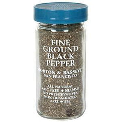 MORTON & BASSETT FINE GROUND BLACK PEPPER