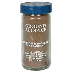 MORTON & BASSETT GROUND ALLSPICE