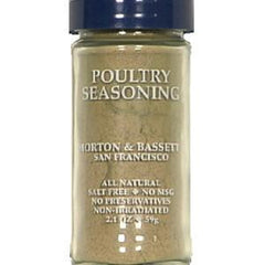 MORTON & BASSETT POULTRY SEASONING