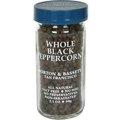 MORTON & BASSETT WHOLE BLACK PEPPERCORN