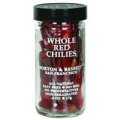 MORTON & BASSETT WHOLE  RED CHILIES
