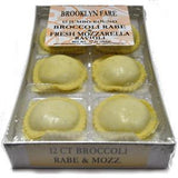 BROOKLYN FARE BROCCOLI RABE & FRESH MOZZARELLA    RAVIOLI