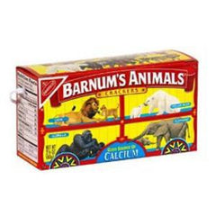 NABISCO BARNUM ANIMAL CRACKERS- SNACK SIZE
