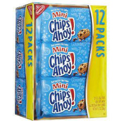 NABISCO MINI CHIPS AHOY ORIGINAL 12 PK- SNACK COOKIES