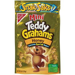 NABISCO MINI TEDDY GRAHAM HONEY - SNACKS CRACKERS