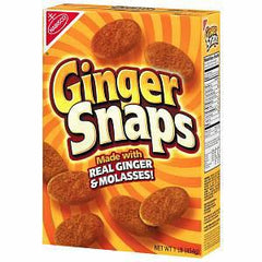 NABISCO OLD FASHIONED GINGER SNAPS