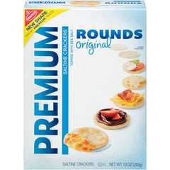 NABISCO PREMIUM ROUNDS ORIGINAL -  CRACKERS