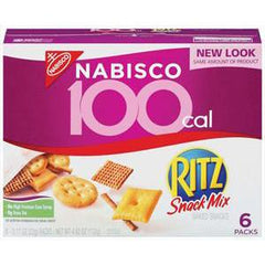 NABISCO RITZ SNACK MIX 100 CALORIES - SNACK MIX