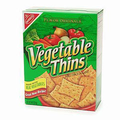 NABISCO VEGETABLE THINS - SNACK CRACKERS