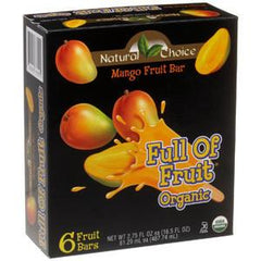 NATURAL CHOICE MANGO BARS