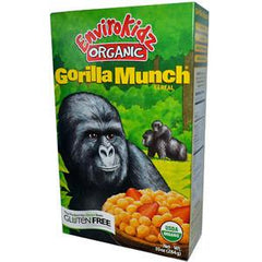NATURE'S PATH ORGANIC CORN PUFFS GORILLA MUNCH CEREAL
