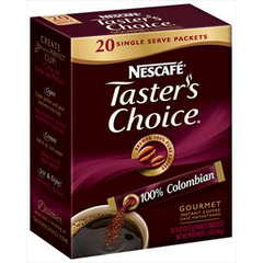 NESCAFE TASTER'S CHOICE COLOMBIAN COFFEE