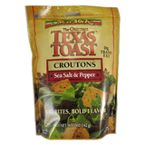 NEW YORK TEXAS TOAST SEA SALT & PEPPER CROUTONS