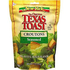 NEW YORK TEXAS TOAST CROUTONS SEASONED