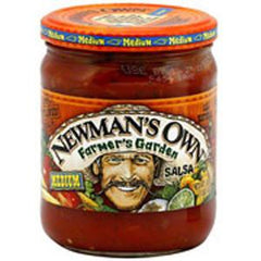 NEWMAN'S OWN FARMER'S GARDEN MEDIUM SALSA