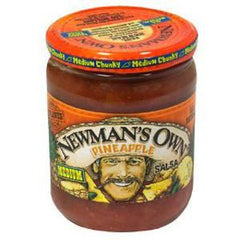 NEWMAN'S OWN PINEAPPLE SALSA - MEDIUM