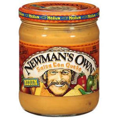 NEWMAN'S OWN SALSA CON QUESO - MEDIUM