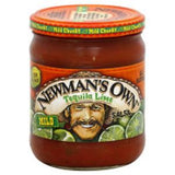 NEWMAN'S OWN TEQUILA LIME SALSA - MILD