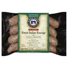 NIMAN RANCH ALL NATURAL SWEET ITALIAN SAUSAGE FULLY COOKED - GLUTEN FREE