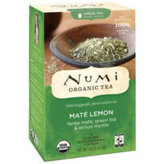 NUMI ORGANIC   MATE LEMON TEA