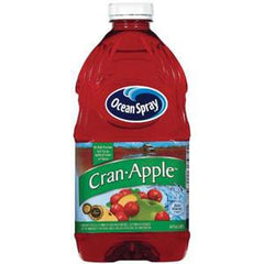 OCEAN SPRAY CRANBERRY APPLE JUICE DRINK BLENDED