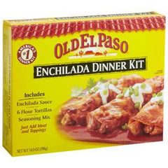 OLD EL PASO ENCHILADA DINNER KIT
