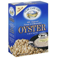 OLDE CAPE COD ALL NATURAL SOUP & CHOWDER OYSTER CRACKERS