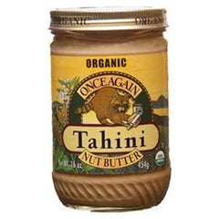 ONCE AGAIN ORGANIC TAHINI NUT BUTTER