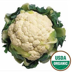 ORGANIC CAULIFLOWER FROM USA