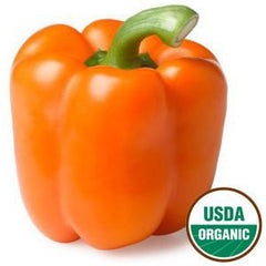 ORGANIC ORANGE BELL PEPPER
