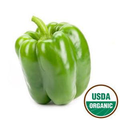 ORGANIC GREEN PEPPER FROM MEXICO