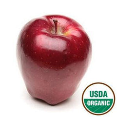 ORGANIC RED DELICIOUS APPLES