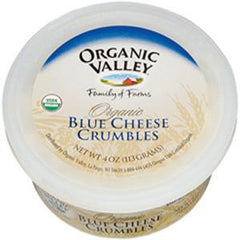 ORGANIC VALLEY ORGANIC BLUE CHEESE CRUMBLES