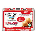 ORGANIC VALLEY ORGANIC BROWN LARGE EGG